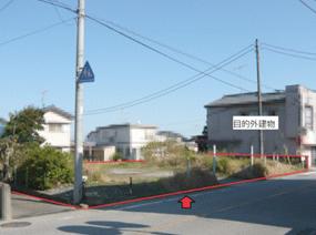 JR成田線「小林駅」近くの更地