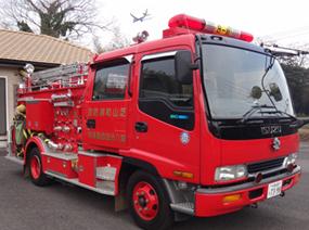 消防車(水槽付消防ポンプ自動車)
