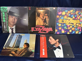 <strong>矢沢永吉ほかLPレコード10点セット</strong>