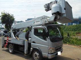 三菱 キャンター 高所作業車