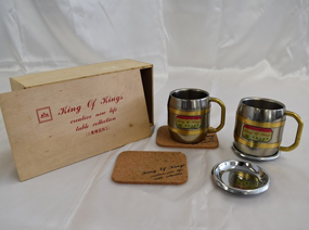 ステンレスペアマグカップセット