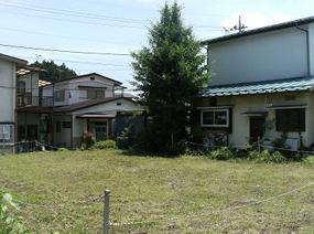 栃木県日光市の元職員公舎敷地
