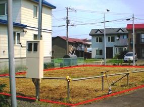 北海道釧路市の旧貸付地
