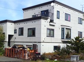 北海道当別町六軒町の3階建て住宅