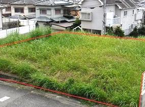 和歌山県岩出市山田の分譲住宅地
