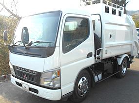 三菱 パッカー車
