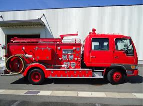 日野 レンジャー 消防ポンプ車