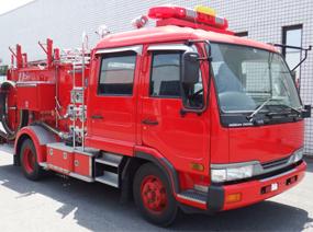 日産 コンドル 水槽付き消防ポンプ車