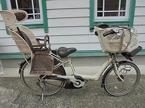 3人乗り電動アシスト付き自転車