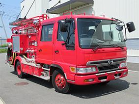 日野 消防ポンプ車