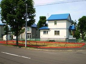 北海道釧路市大町の旧貸付地
