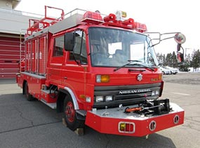日産ディーゼル 消防車 救助工作車