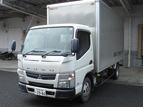 三菱 キャンター 配送用トラック