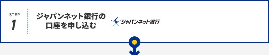 Step1 ジャパンネット銀行の口座を申し込む