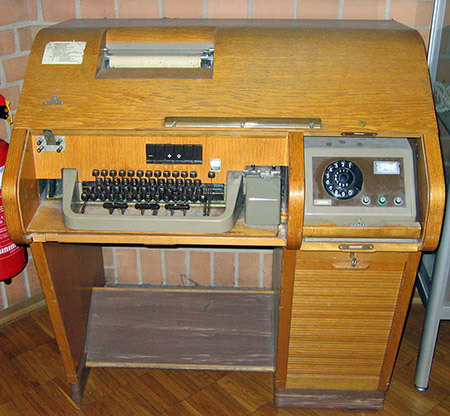 Telex machine T100
