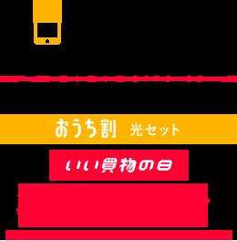 月額最大3,111円割引