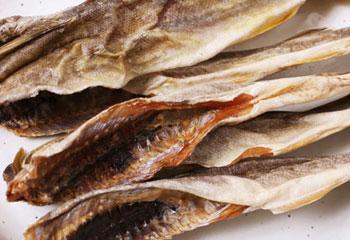 丸干し氷下魚(こまい)1袋180g