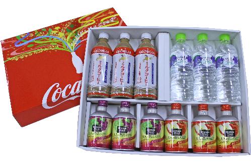 北海道限定コカ・コーラギフト4種類