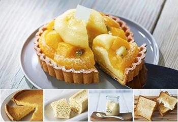 ルタオの夏の限定ケーキと選べる1品