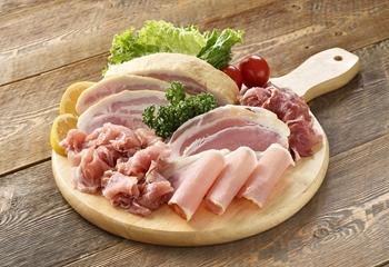 ホエー豚のハム・ベーコン4種7点セット