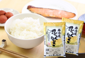 北海道産ふっくりんこ白米10kg