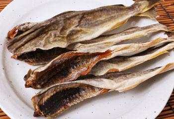 北海道産の丸干し氷下魚(こまい)