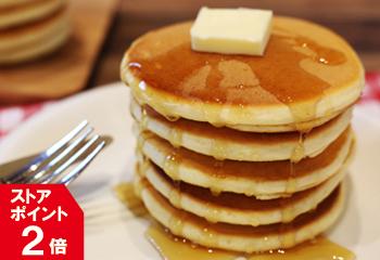 北海道小麦100%! パンケーキミックス