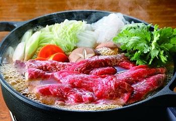北海道ふらの和牛もも すき焼きセット