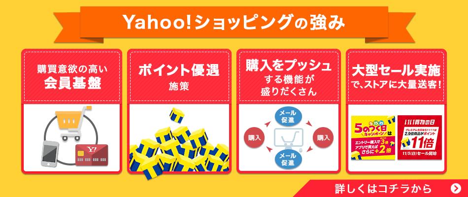 Yahoo!ショッピングの強み