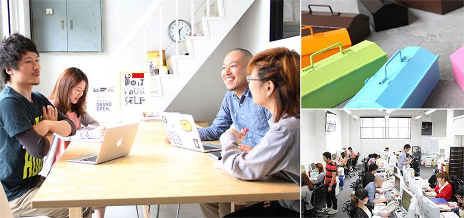 DIYツール ドットコムのスタッフや商品、作業風景