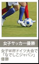 女子サッカー優勝 女子W杯ドイツ大会で「なでしこジャパン」優勝