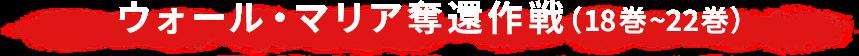 ウォール・マリア奪還作戦(18巻~22巻)