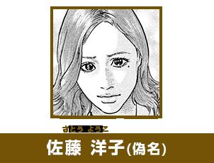 佐藤 洋子(偽名)