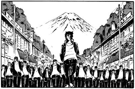 万吉一家3万人による東京に向けての大行進