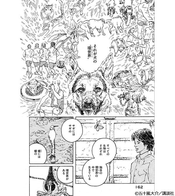 「ウムヴェルト 五十嵐大介作品集」コマ画像