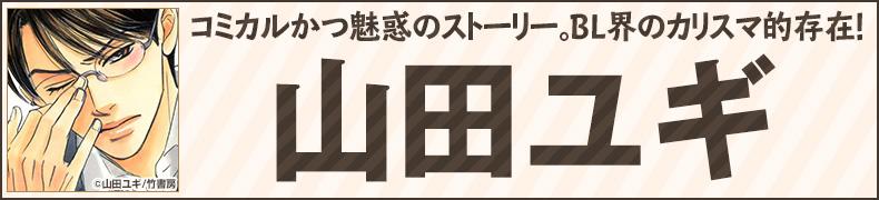 コミカルかつ魅惑のストーリー。BL界のカリスマ的存在! 山田ユギ