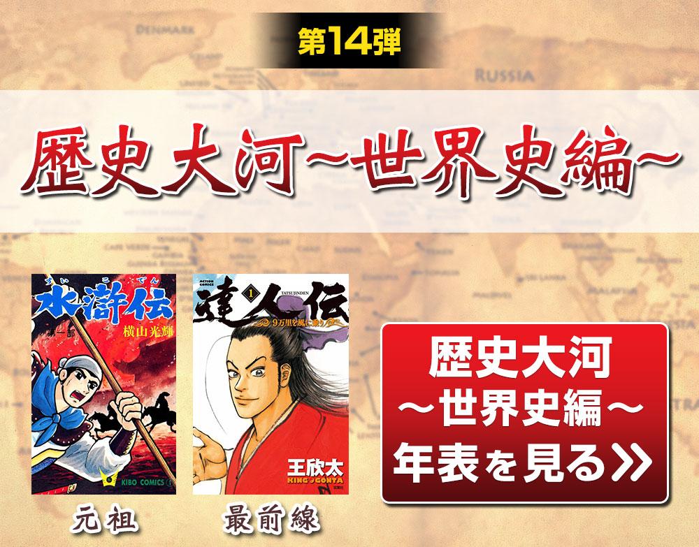第14弾 歴史大河~世界史編~