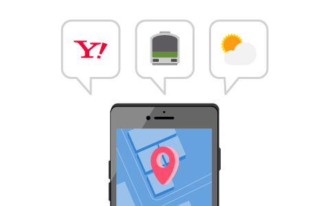 Examples of how our apps use location information