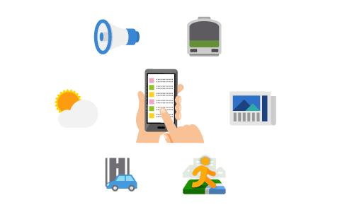 お客様によるサービス等の利用・閲覧に伴って自動的に送信される場合
