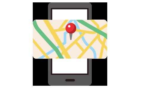 位置情報と連動したサービス等の提供