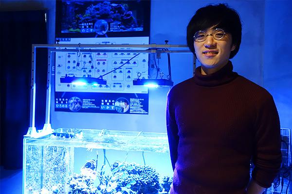 サンゴと海の可能性で世界を変えたい