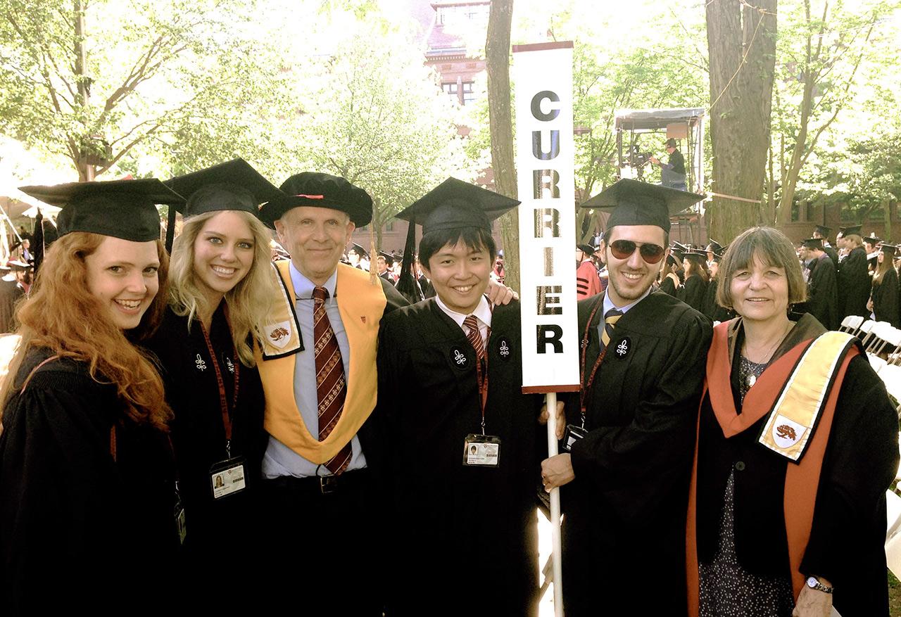 2014年、ハーバード大学の卒業式の様子(写真提供:HLAB)