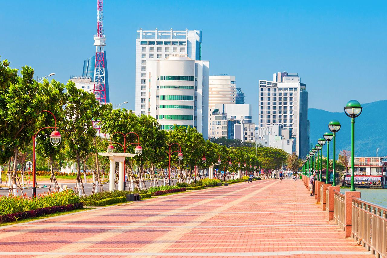 ダナン市の街並み(写真:アフロ)