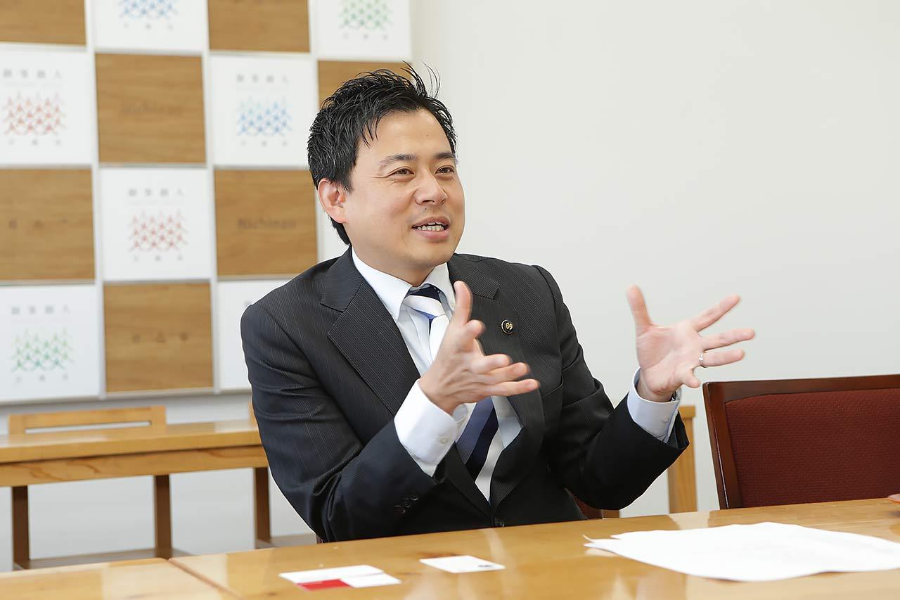 﨑田恭平市長