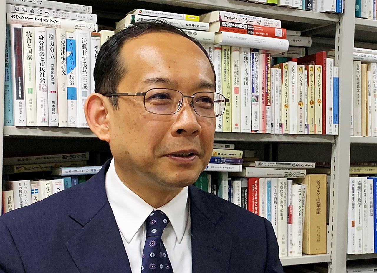飯尾潤教授