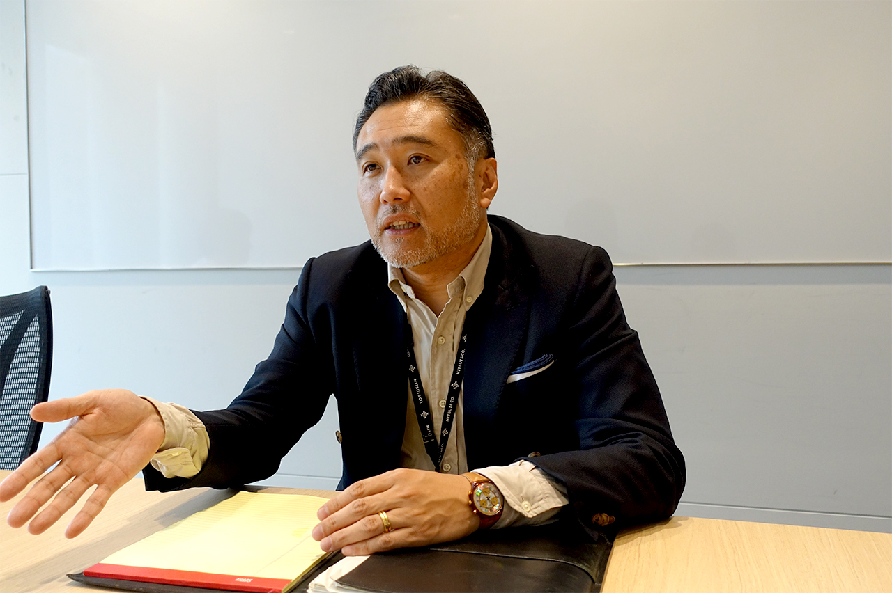 M-KOPAの事業を担当する三井物産の古田真崇・第二営業室長