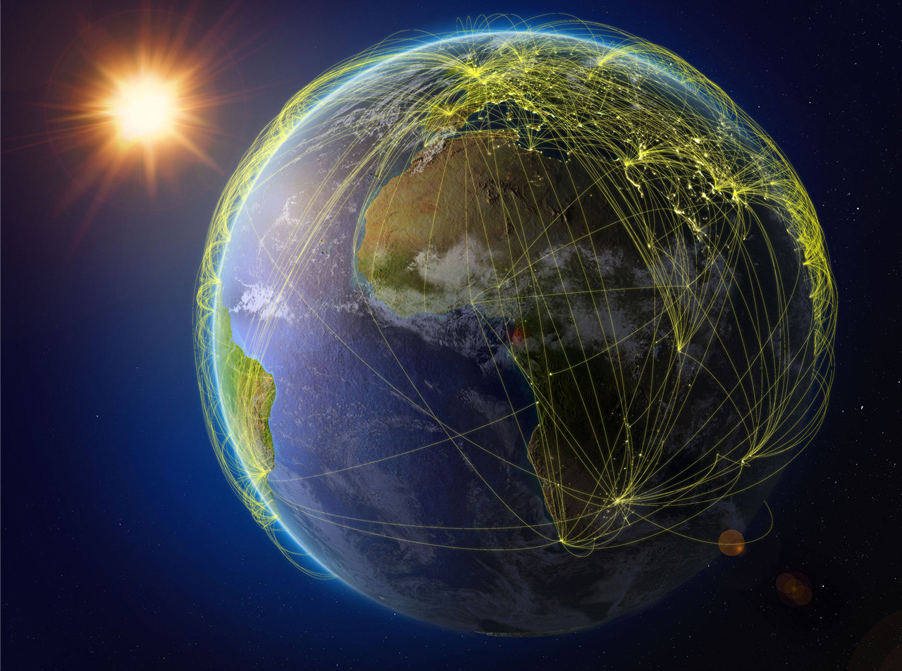 アフリカでも国境を越えたコミュニケーションが生まれ始めている。