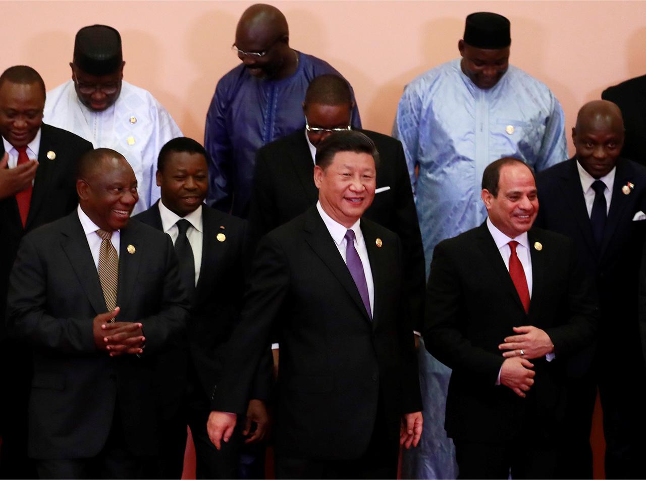 中国の習近平国家主席は、アフリカ各国との関係を強化している。