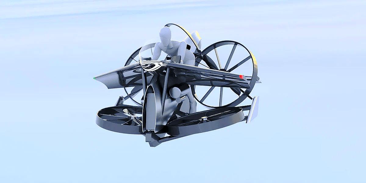 パーソナルヘリコプター teTra
