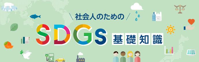 社会人のためのSDGs基礎知識